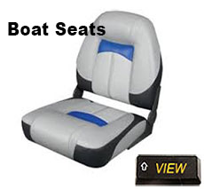 Walleye boat seats