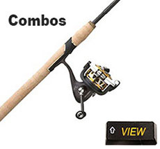 walleye rod and reel combos
